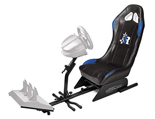 Subsonic - Siège baquet avec support pour volant et pédalier - Cockpit de simulation SRC 500 pour PS4, Xbox One et PC
