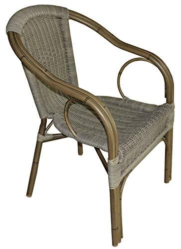 Gruppo maruccia sedie per bar pizzerie ristoranti e giardino in allumino effetto legno impilabili set da quattro sedie