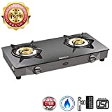 Superflame Magic Glass Top Gas Stove with 2 Year Warranty (2 Burner)
