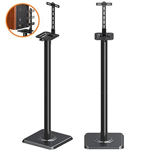 Mounting Dream Lautsprecherständer Bücherregal Lautsprecherständer für Universal Sat-Lautsprecher, 2er Set für Bose Polk JBL Sony Yamaha und andere - 11 lbs Kapazität - Surround-system-basis