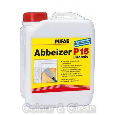 Pufas Abbeizer P15 intensiv 2,5 Ltr Kraft-Abbeizmittel für Lacke Lasuren Farben
