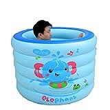 Tianyi Yugang Luxus Erwachsene Kinder Tragbare Badewanne Verdickte aufblasbare unabhängige Tragbare mit Komfortablen Hochwertigen Weichen Sicherheit Badewanne PVC 105 * 72 cm