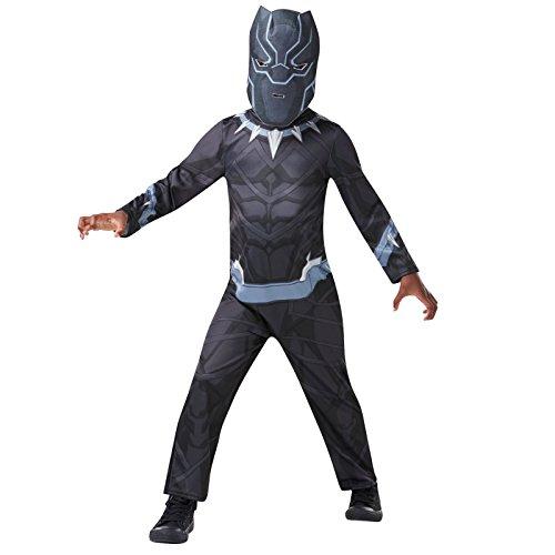 Rubie's Black-Panther-Kostüm der Marvel Avengers, für Kinder von 9-10 Jahren, 640908 9-10