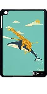 Hülle für Ipad Mini – Shark und Giraffe Piraten - ref 666