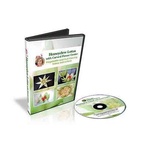honeydew-melon-lotus-with-carved-flower-center-dvd