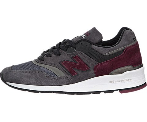 New Balance M997 Made in USA Connoisseur Guitar Pack, CCF Lead grey grau, 8,5 (In Made Usa)