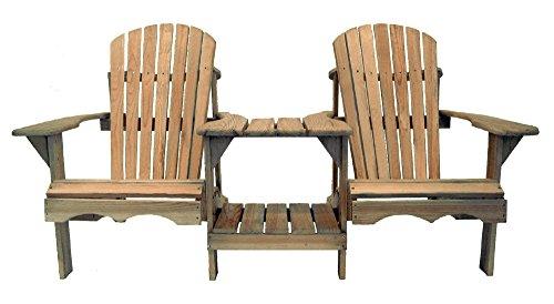 Cool Products Sessel Bausatz Adirondack Chair, beige, 91 x 140 x 91 cm, 01-TT-Addi-2S
