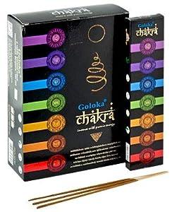 Goloka Chakra Incienso 12 caja