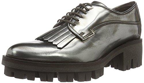 HIP D1052, Chaussures à lacets femme Argent - Silber (91CO/Bc)