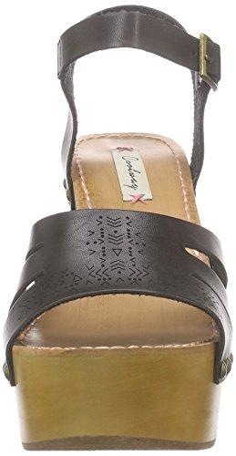 Coolway Cassandra, Chaussures à talon femme noir (BLK)