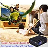 SLB Works Brand New 5600 Lumen Android 4.4 WIFI 1080P HD LED Projector Micro Home Theater Projector