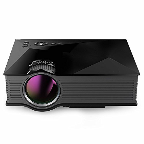 Wahoo uc46Mini Proyector LCD LED port Baler HD Proyector WiFi TV Cine...