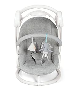 Mamas & Papas Musical Starlite Swing Chair - Grey Melange Design