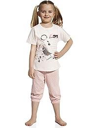 Cornette Pijama 2 Piezas Verano Set para niñas CR 570 46 I Love Summer