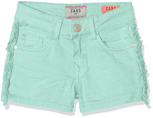 Cars jeans kids rissa, pantaloncini bambina, turchese (mint 34), 128 cm