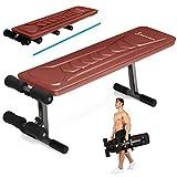 Sportstech Banc de Musculation BRT100/500 Appareil Multifonction Pliable inclinable muscu Entrainement, réglable, poignées Push-up Fitness Muscles abdominaux Jambes
