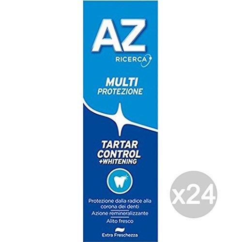 Set 24AZ Zahnpasta Tartar Control whitetening Classic Hygiene und Pflege der Zähne