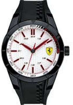 Watch RedRev Scuderia Ferrari Black White Dial 0830300