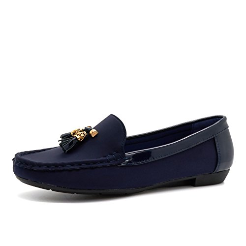 London Footwear - Sandali con Zeppa donna Blue