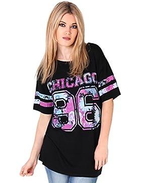 KRISP Camiseta Deportiva Manga Corta Beisbol Larga Talla Grande