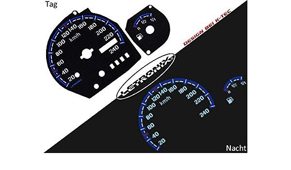 Letronix Plasma Tacho Tachoscheiben Geeignet Für Auto Ka 20 240km H O Dzm Auto