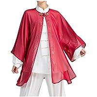 Sonnenschutzmittelaußenschleier Weibliches Chiffon- Team Tai Chi, Das Kampfkunstmorgenübungen Zeigt, Zeigen Kleidung
