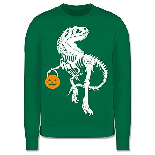 Shirtracer Halloween Kind - Halloween T-Rex - 5-6 Jahre (116) - Grün - JH030K - Kinder - Kind Grün T Rex Kostüm
