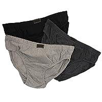 "Britwear 6 x Mens Cotton Briefs Slips (Extra Large, 2XL to 5XL) Size:3XL (48""-50"" / 122cm - 127cm) XXXL King"