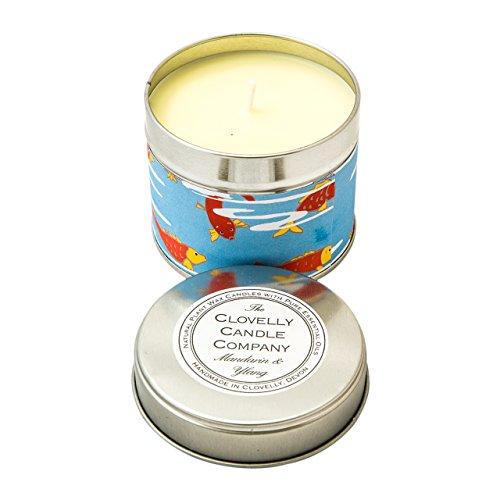 Clovelly Candle Co. Naturale a mano candela profumata di cera
