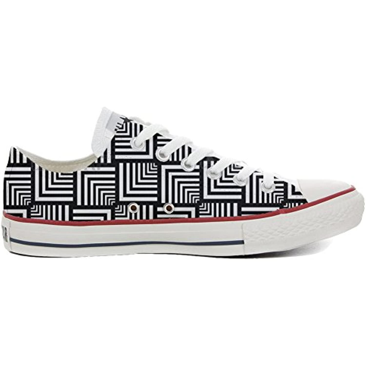 online store 83867 55509 mys Converse Customized Customized Customized Unisex Slim, Chaussures  Coutume Produit Artisanal Geometric B06X6KPBS7 - cd36b7