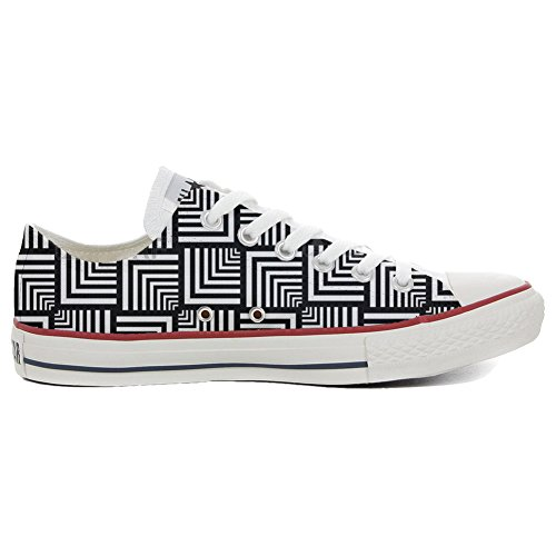 Converse All Star Chaussures Coutume (produit artisanal) Geometric