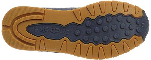 Reebok Cl Leather Sg, Scarpe da Fitness Uomo Blu (Smoky Indigo/chalk-gum)