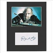 Oliver.–Ron Moody Original y auténtico firmado autógrafo AFTAL COA