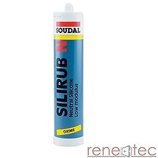 Soudal Silirub N 310ml - Neutraler Dichtstoff Braun