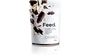 Feed. Original 5 Meal Bag Chocolate - Complete Meal - 100% Vegan - Lactose-Free - Gluten-Free - GMO-Free - 750g