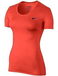 Nike Damen Oberbekleidung Pro Cool Shortsleeve Top