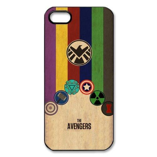 """The Avengers Design Étui pour l'iPhone 5/5S, coque pour iPhone 5S Coque """", Sac TPU Phone Case Housse de Protection Cas Étui Case pour iPhone 55S"""