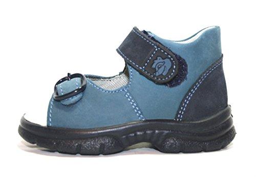 Jela 51.586 enfants sandales chaussures d'été Bleu - Blau (dunkelblau/blau 99)