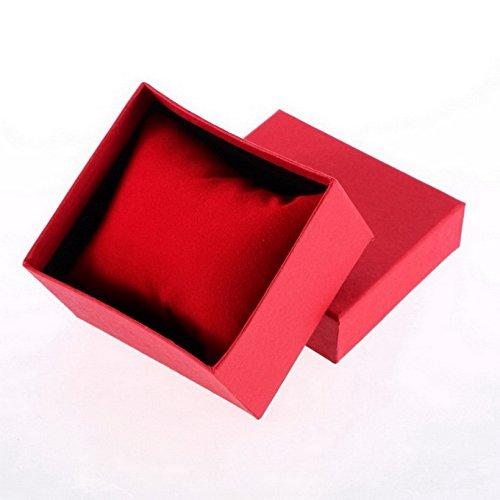 Fashion Jewelry Box per Bracciale Collana Orecchini Orologio Custodia protettiva