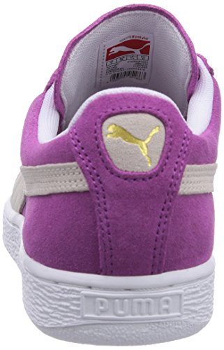 Puma Suede Classic Wn's - Zapatillas para mujer, glacier gray-grape juice 31, UK5, UK6 Pink (vivid viola 24)