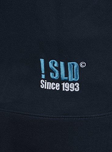 SOLID BennZip Herren Sweatjacke Zip Hoodie Kapuzenjacke Insignia Blue (1991)