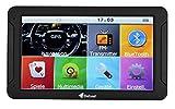 Elebest City 80 Navigationsgerät,32 GB Speicher,17,8cm 7 Zoll Display,PKW,LKW,Wohnmobil,GPS,Navigation,Fahrspurassistent,Kostenlose Kartenupdate