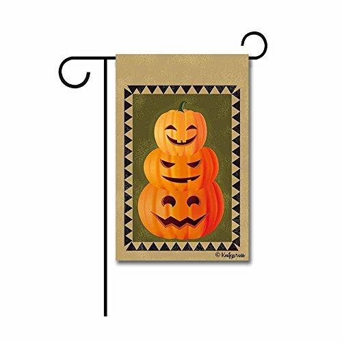 Kafepross Halloween Night Fledermaus und Eule Deko Garten Flagge Wegweiser Decor Banner Mini Garden flag-12.5x18 inch 50 (Winter Eule Garten Flag)