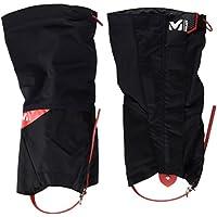 Millet Alpine MIS21092924 - Polainas altas para hombre, Negro/Rojo, M
