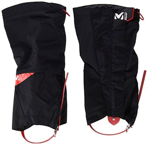 Millet Alpine MIS21092924 - Polainas Altas para Hombre, Negro/Rojo, L