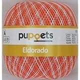 50g Puppets eldorado - Farbe_ 32 - altrosa meliert - Häkelgarn Stärke 10