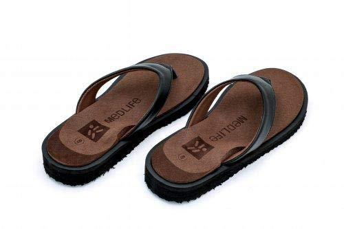 MEDLIFE Women's Diabetic Footwear - Brown (9, Brown)