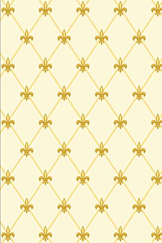 Mardi Gras Pattern - Carnival Decoration 32: Blank Lined Notebook for Mardi Gras and Carnival ()