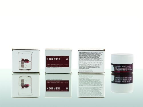 Korres Wild Rose Cream for oily to combination skin by Korres (English Manual)