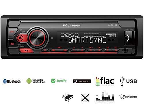 Pioneer-MVH-S310BT-1-DIN-Autoradio-mit-Bluetooth-ohne-CD-Laufwerk-Shortbody-fr-Mercedes-Sprinter-Facelift-W902-W903-W903-W904-W905-2000-2006-schwarz